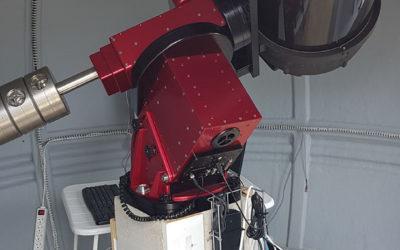 Un nouveau télescope sous la coupole !!!