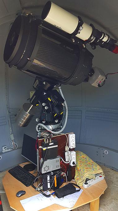 L'observatoire de Vaison côté sciences…. La photométrie des exoplanètes !
