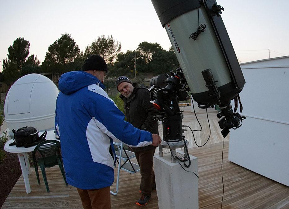 Reprise d'activités du Club Astro de l'Observatoire