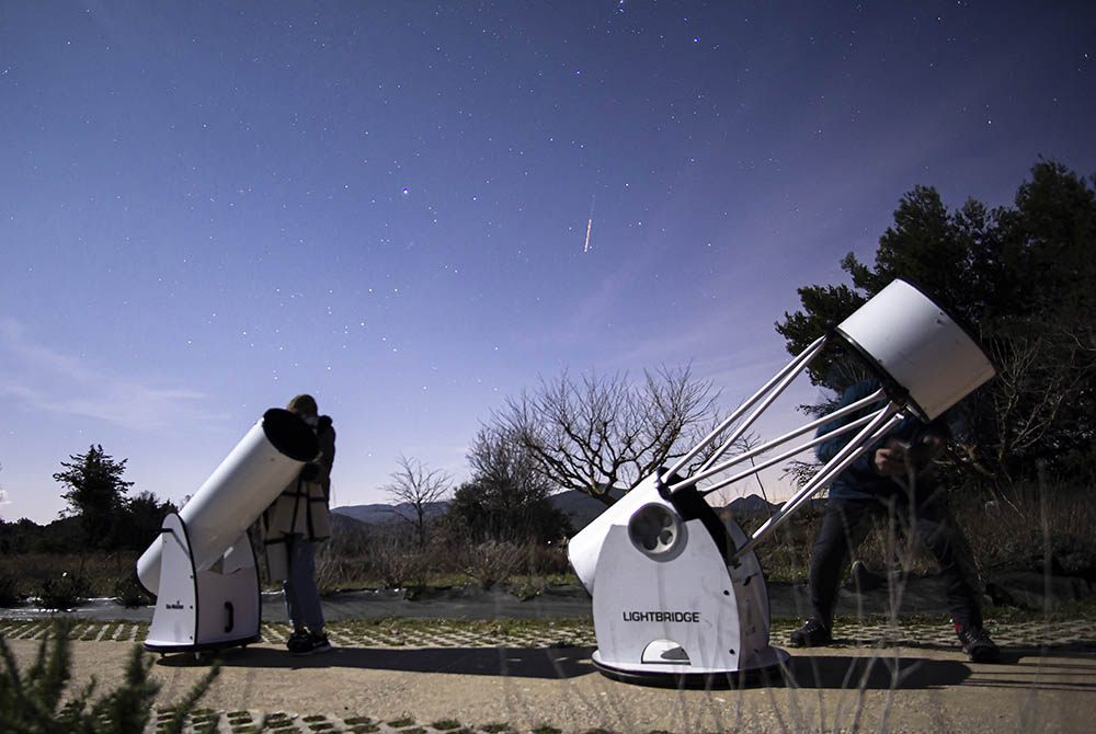 Tous les vendredis soirs, venez apprendre à utiliser un télescope, et pourquoi pas l'acheter !
